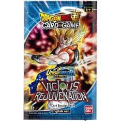Dragon Ball Unison Warrior Series Vicious Rejuvenation Boosters 12 (24ct) RRP £3.99