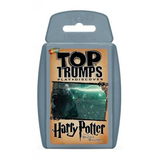 Top Trumps Harry Potter and the Deathly Hallows Part 2 RRP £8.00