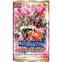 Digimon Great Legend Boosters (24ct) RRP £3.99 SOLD OUT TO PRE ORDER