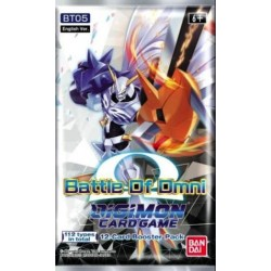 Digimon Battle of Omni Boosters (24ct) RRP £3.99 - July 2021