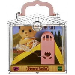 Baby Carry Case (Dog on Slide) (SYL65204) RRP £7.99 Bricks & Mortar ONLY