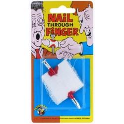 Jokes Nail Through Finger (12ct) RRP £1.49