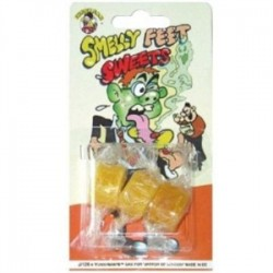 Jokes Smelly Feet Sweets (12ct) RRP £0.99