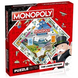 The Lakes Monopoly Jigsaw RRP £14.99