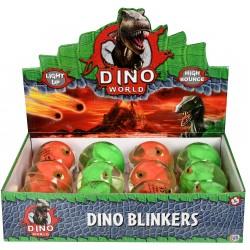 Dino Bouncy Light Up Blinkers (12ct) RRP £1.99
