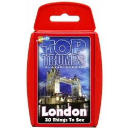 Top Trumps London 30 Things To See RRP £8.00