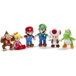 """Super Mario 14"""" Original Plush Assortment (6ct) RRP £14.99"""