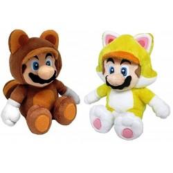 """Super Mario 14"""" Costume Plush Assortment (6ct) RRP £12.99"""