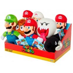 """Super Mario 8"""" Plush Assortment (8ct) RRP £9.99"""