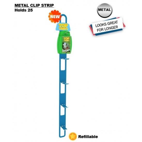 25pc Metal Clip Strip
