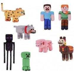 "Minecraft 12"" Plush Assortment (8ct) RRP £19.99"