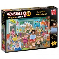 WASGIJ Original 36 Jigsaw - New Year Resolutions RRP £12.99