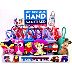 30ml Hand Sanitizer with Novelty Cases (24ct) RRP £2.99