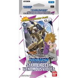 Digimon Starter Deck - Venomous Violet (6ct) RRP £9.99