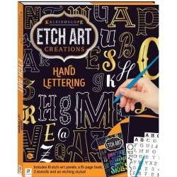 Etch Art Creations: Hand Lettering RRP £7.99