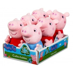 Peppa Pig Collectable Eco-Friendly Plush Assortment (6ct) RRP £5.99