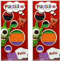 Plasticine BaSix Assortment in CDU (36ct) RRP £0.99