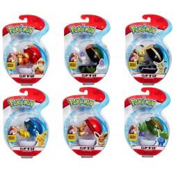 Pokemon Clip 'n' Go Poke Ball Assortment - Wave 7 (6ct) RRP £9.99