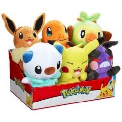 "Pokemon 8"" Plush Assortment - Wave 9 (6ct) RRP £12.99"