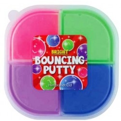 Bouncing Putty 4-tone Tub (12ct) RRP £1.49