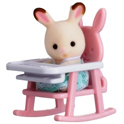 Baby Carry Case (Rabbit on Baby Chair) (SYL65197) RRP £7.99 Bricks & Mortar ONLY