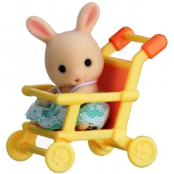 Baby Carry Case (Rabbit on Pushchair) (SYL65200) RRP £7.99 Bricks & Mortar ONLY