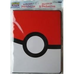 Pokemon Poke Ball 9-pocket Portfolio RRP £11.99