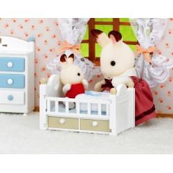 Chocolate Rabbit Baby Set (SYL25017)  RRP £11.99 Bricks & Mortar ONLY