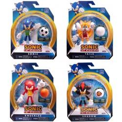 "Sonic the Hedgehog 4"" Figure Assortment (6ct) RRP £9.99"