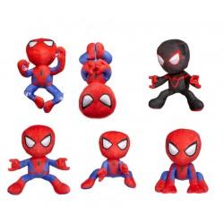 "Spiderman 12"" Action Pose Plush Assortment (5ct) RRP £12.99"