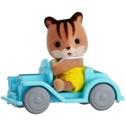 Baby Carry Case (Squirrel on Car) (SYL65203) RRP £7.99 Bricks & Mortar ONLY