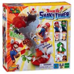 Super Mario Blow-up Shaky Tower (6ct) RRP £19.99 BRICKS & MORTAR ONLY