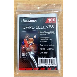 Single Card Holder Soft Sleeves (100ct) RRP £0.99