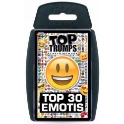 Top Trumps Top 30 Emotis RRP £6.00