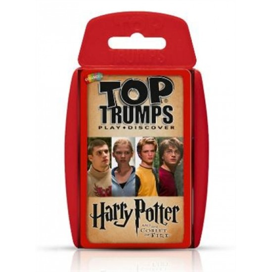 Top Trumps Harry Potter and the Goblet of Fire RRP £8.00