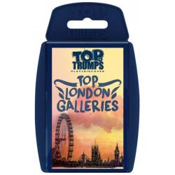 Top Trumps Top London Galleries RRP £6.00