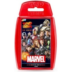 Top Trumps Marvel Cinematic Universe 30 Icons RRP £8.00