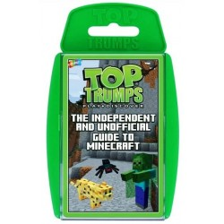 Top Trumps The Independent & Unofficial Guide To Minecraft RRP £8.00