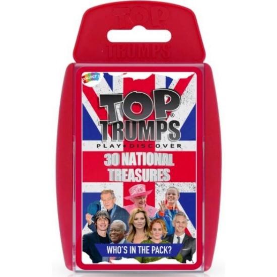 Top Trumps 30 National Treasures RRP £8.00