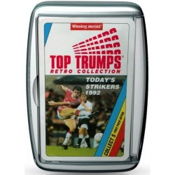 Top Trumps Retro Collection Today's Strikers 1992 RRP £6.00