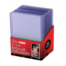 Toploaders - Ultra Pro (25ct) RRP £2.25