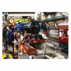 Waiting on the Platform Jigsaw RRP £12.99
