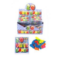 Water Bomb Balloons & Nozzle (75pcs) (24ct) RRP £0.99