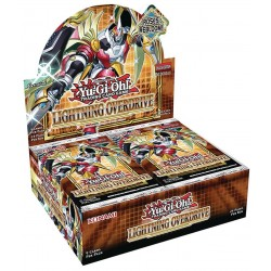 Yu-Gi-Oh Lightning Overdrive Booster (24ct) RRP £3.59